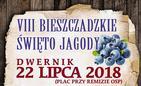 VIII Bieszczadzkie Święto Jagody w Dwerniku