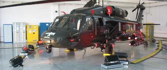 Osiągi helikoptera Black Hawk