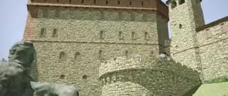Trójwymiarowa rekonstrukcja Zamku Kamieniec w Odrzykoniu