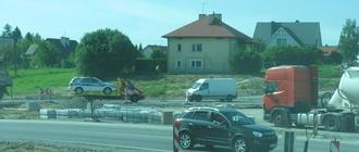 Miejsce w którym mogłaby rozpocząć się obwodnica południowa - dawna granica Rzeszowa i wsi Zwięczyca (w tej chwili tymczasowy objazd robót na wiadukcie S19)