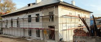 Trwa modernizacja dawnej synagogi w Kolbuszowej