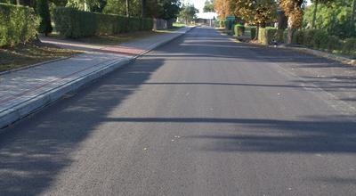 Droga powiatowa w Pawłosiowie