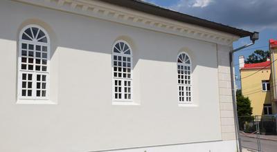 Powoli kończy się remont kolbuszowskiej synagogi