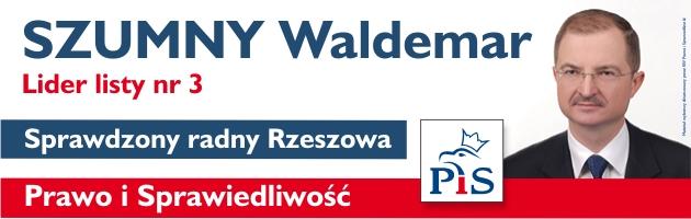 Waldemar Szumny- kandydat do Rady Miasta Rzeszowa