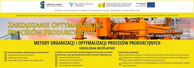 Zarządzanie Optymalizacją Procesów Produkcyjnych