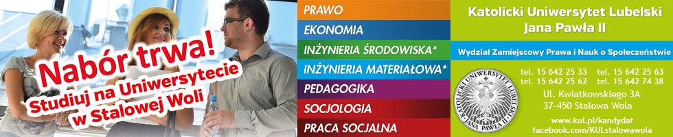 KUL Wydział Zamiejscowy Prawa i Nauk o Społeczeństwie w Stalowej Woli