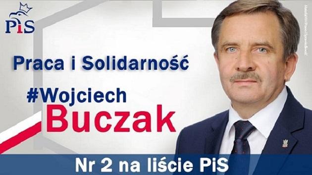 Wojciech Buczak, kandydat do Sejmu RP
