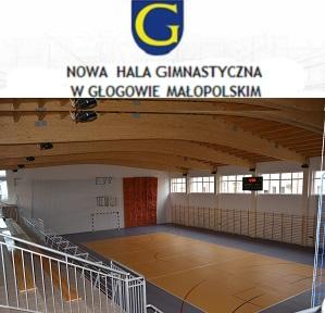 Nowa hala sportowa w Głogowie Małopolskim