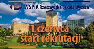 WSPiA Rzeszowska Szkoła Wyższa - rekrutacja na rok akademicki 2016/2017