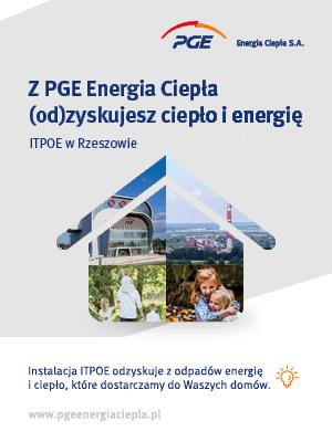 Z PGE Energia Ciepła (od)zyskujesz ciepło i energię