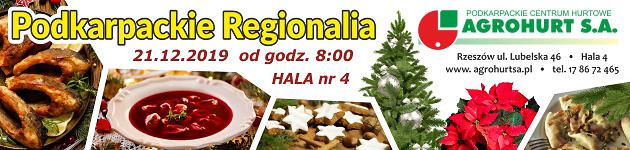 Podkarpackie Regionalia w Agrohurcie - Jarmark Bożonarodzeniowy
