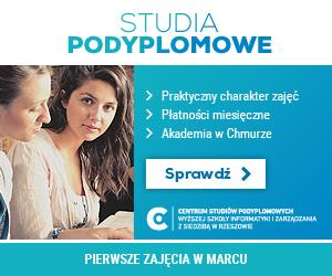 Studia podyplomowe na Wyższej Szkole Informatyki i Zarządzania w Rzeszowie