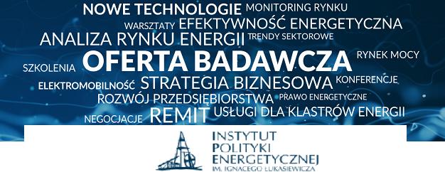 Instytut Polityki Energetycznej im. Łukasiewicza - oferta badawcza