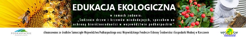 Edulacka ekologiczna w ramach zadania Sadzenie drzew i krzewów miododajnych sposobem na ochronę bioróżnorodności w województwie podkarpackim