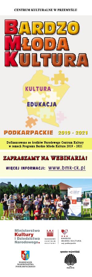 Bardzo Młoda Kultura - webinaria