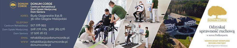 Donum Corde - Centrum Rehabilitacji, Dom Opieki Medycznej, Dom Seniora