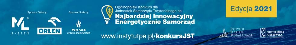 Ogólnopolski Konkurs dla Jednostek Samorządu Terytorialnego na Najbardziej Innowacyjny Energetycznie Samorząd – edycja 2021