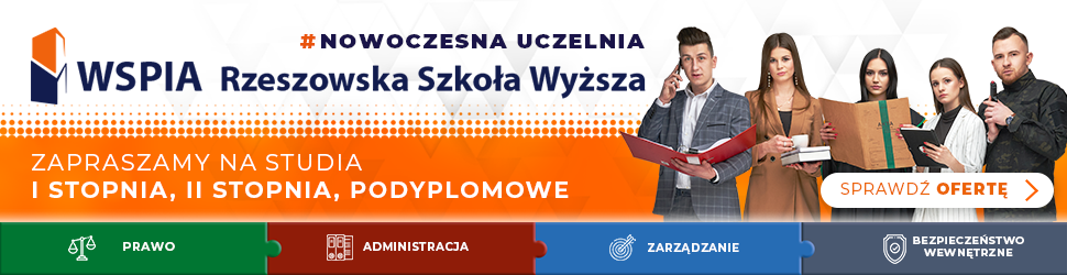 Rekrutacja na studia WSPiA Rzeszowska Szkoła Wyższa