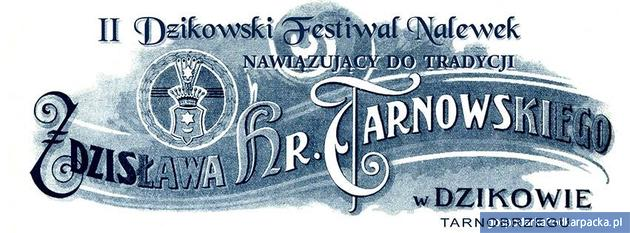 II Dzikowski Festiwal Nalewek