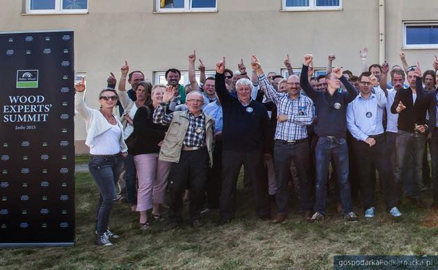 Przedstawiciele branży podłogowej z Belgii w Baltic Wood
