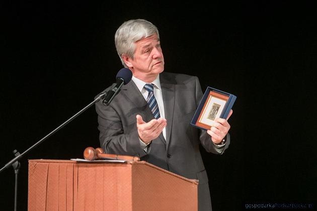Jacek Nowak, prezes Podkarpackiego Towarzystwa Zachęty Sztuk Pięknych