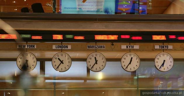 Spadek głównych indeksów warszawskiej giełdy