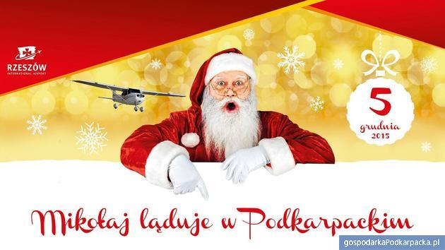 Mikołaj w Porcie Lotniczym