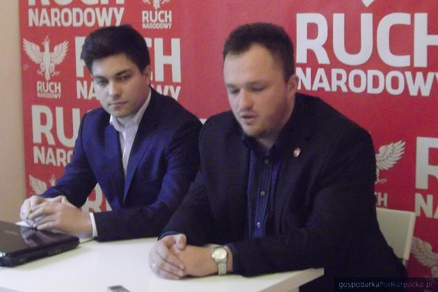 Od lewej Oskar Kochman i Witold Tumanowicz. Fot. Archiwum