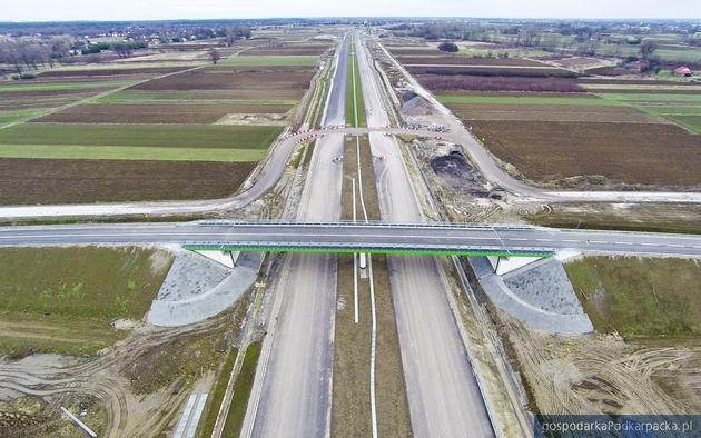 Autostrada A4. Zdjecie z gridnia 2015. Fot. a4rzeszowjaroslaw.pl