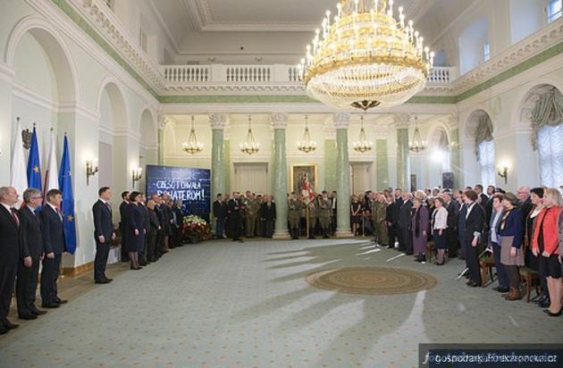 Fot. Andrzej Hrechorowicz/prezydent.pl