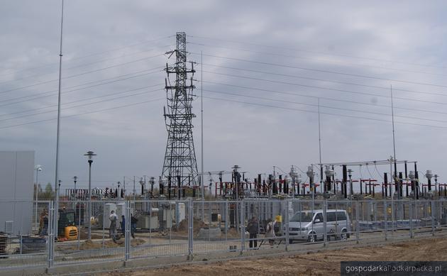 Nowa stacja 110 kV\\SN Rzeszów-Dworzysko