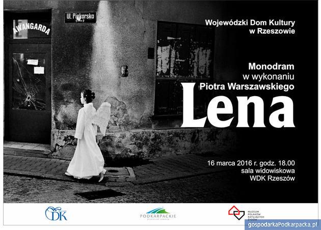 """Monodram """"Lena"""" w WDK"""