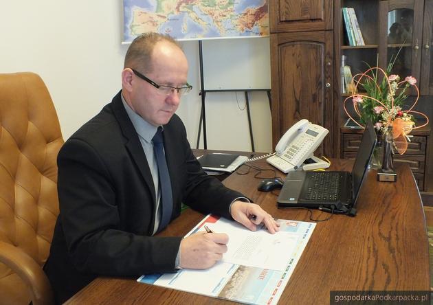 Mariusz Szewczyk, burmistrz Dębicy