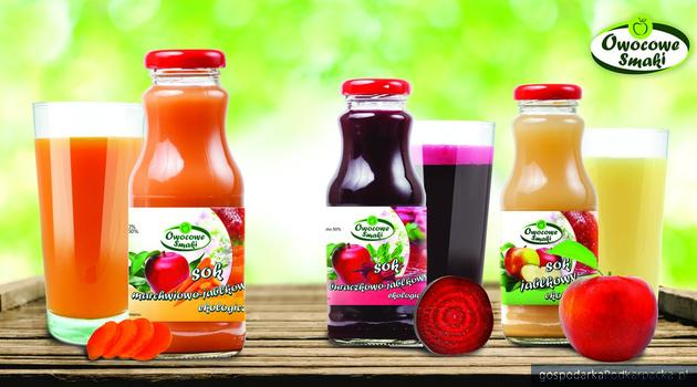 """Owocowe smaki w produktach marki """"Owocowe Smaki"""""""