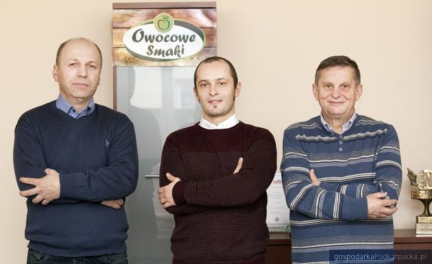 Od lewej: Antoni Tudryn, Mateusz Radek i Zygmunt Radek