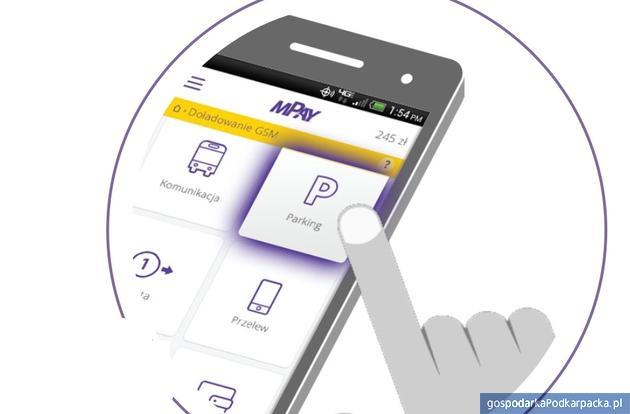 Za parkowanie w Rzeszowie można płacić aplikacją mPay