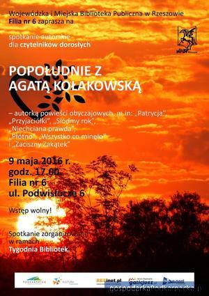 Popołudnie z Agatą Kołakowską