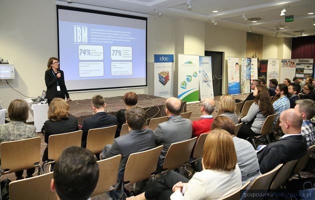Anna Sienko z IBM na jednej z poprzednich edycji Kongresu. Fot. exacto