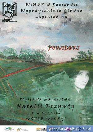 Wystawa malarstwa Natalii Krzywdy