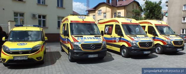 Rzeszowskiej pogotowie ratunkowe w Rzeszowie ma nowe karetki