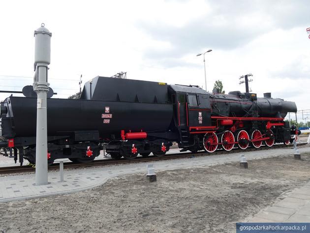 Zabytkowa lokomotywa ze Stalowej Woli-Rozwadowa została odnowiona