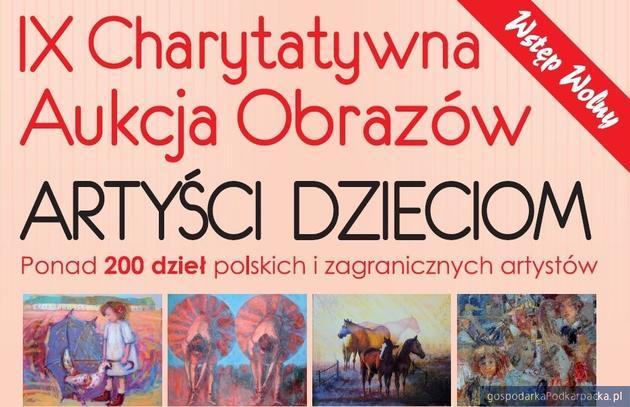 Charytatywna aukcja obrazów na rzecz Hospicjum