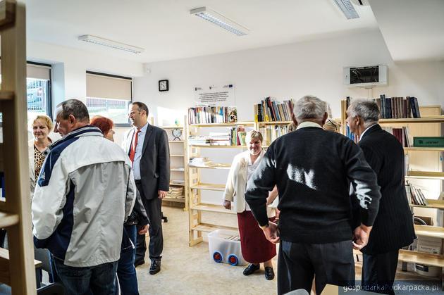 Otwarcie domu kultury na Przybyszówce