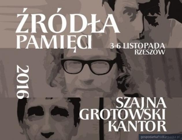"""Trwa festiwal """"Źródła Pamięci. Szajna-Grotowski-Kantor"""""""