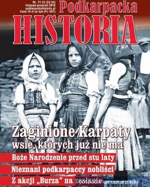 """Podkarpacka Historia"" numer listopad-grudzień 2016"