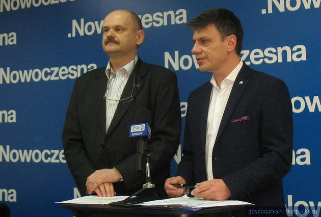 Od lewej Krzysztof Feret i Robert Homicki. Fot. Adam Cyło