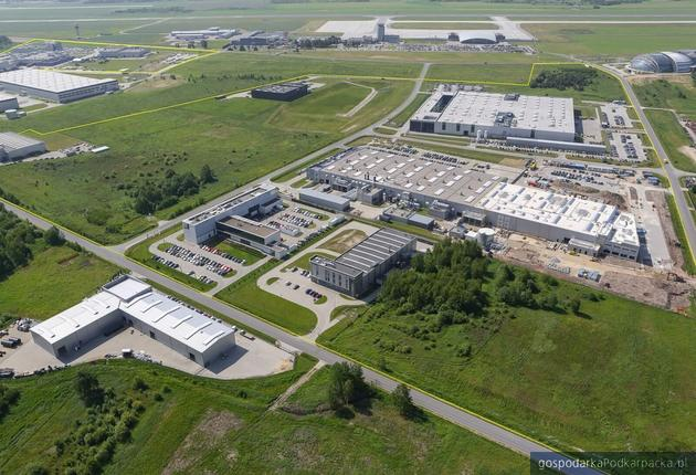 Na zdjęciu Podkarpacki Park naukowo-Technologiczny Aeropolis. Fot. RARR