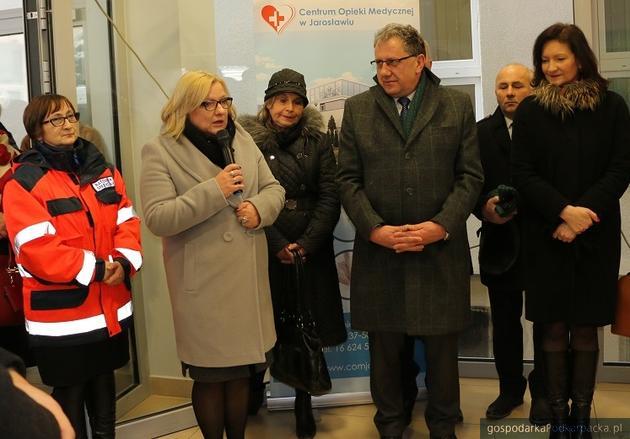 Beata Kempa (druga z lewej). Fot. starostwo.jaroslaw.pl