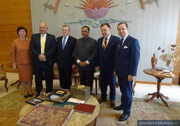 Reprezentanci Podkarpacia rozmawiają o biznesie w Indiach