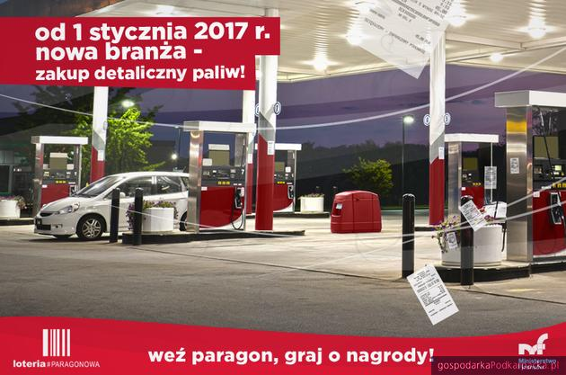 Stacje benzynowe w Narodowej Loterii Paragonowej